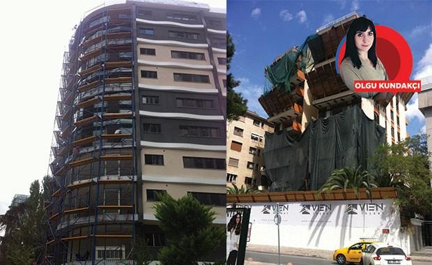 Kadıköy'de inşaat furyası