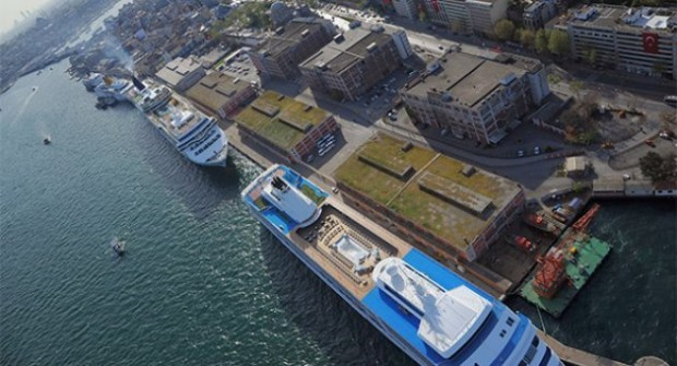 Karaköy sahili yıkılıyor: Galataport'a onay çıktı