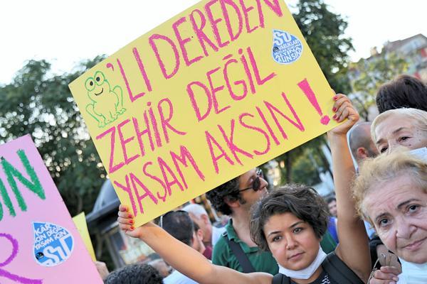 Kurbağalıdere gerçekleri hakkında basın açıklaması 1 Ekim Perşembe 12.30'da