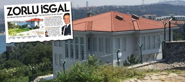 Zorlu'nun tarihi eseri villa yapma planı tutmadı