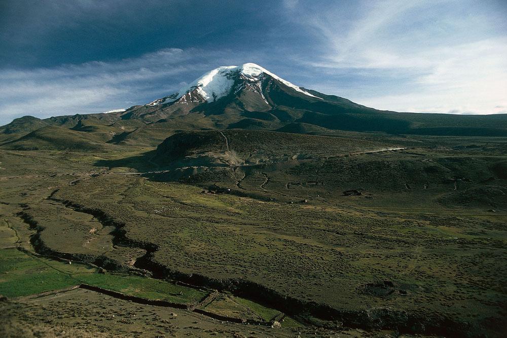 İklimsel değişim ve Chimborazo'nın bitki örtüsü