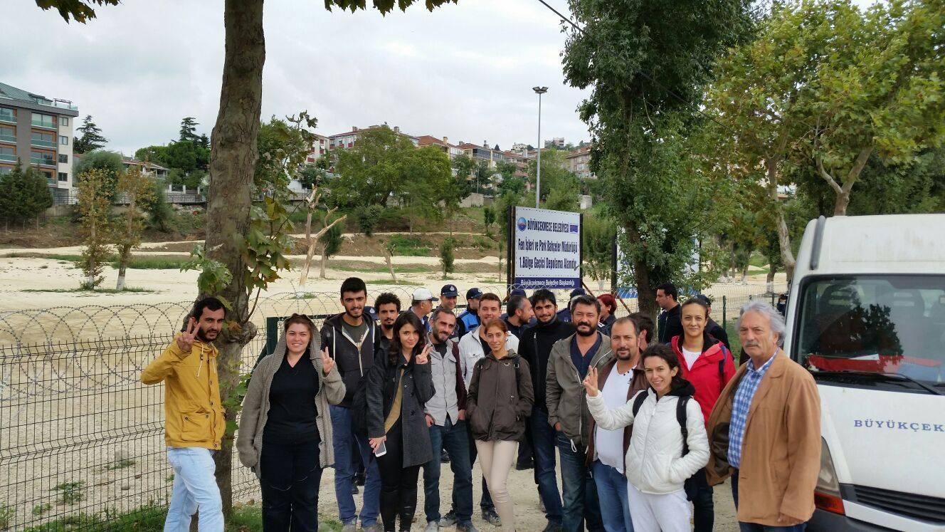 """İKS: """"CHP, yeşile ve gençlere saldıran belediyeni durdur!"""""""