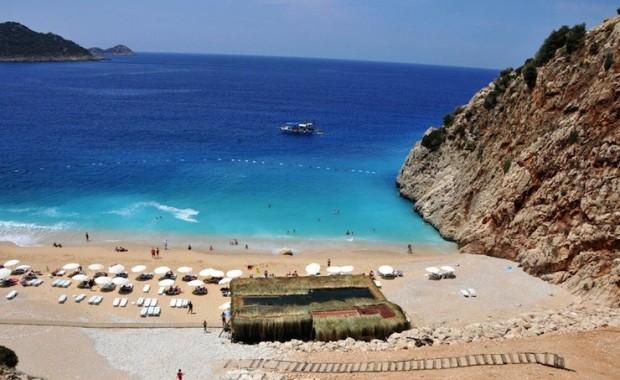 Dünyaca ünlü Kaputaş plajına turistik tesis yapımına yargıdan ret