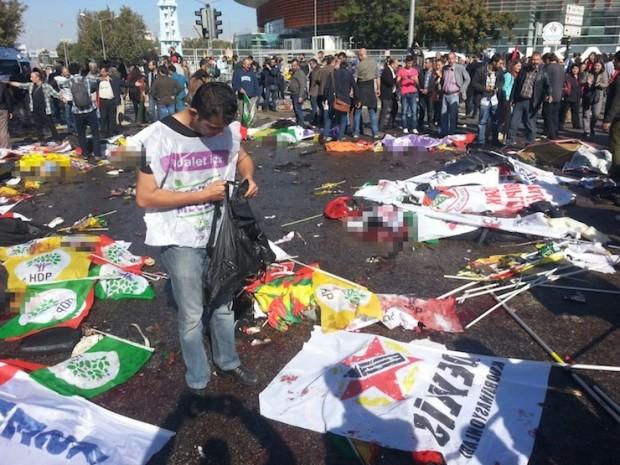 Ankara'da 'barış mitingi' öncesi patlama: En az 86 kişi hayatını kaybetti