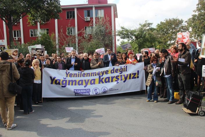 Bakırköylüler hastanelerine sahip çıkıyor: Bakırköy'ün ruhu dokunanı çarpar