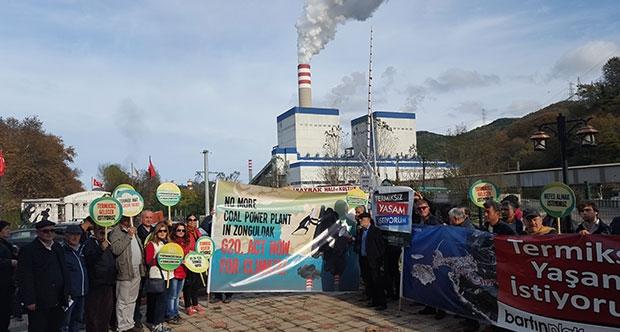 Zonguldak'ta termik isyanı