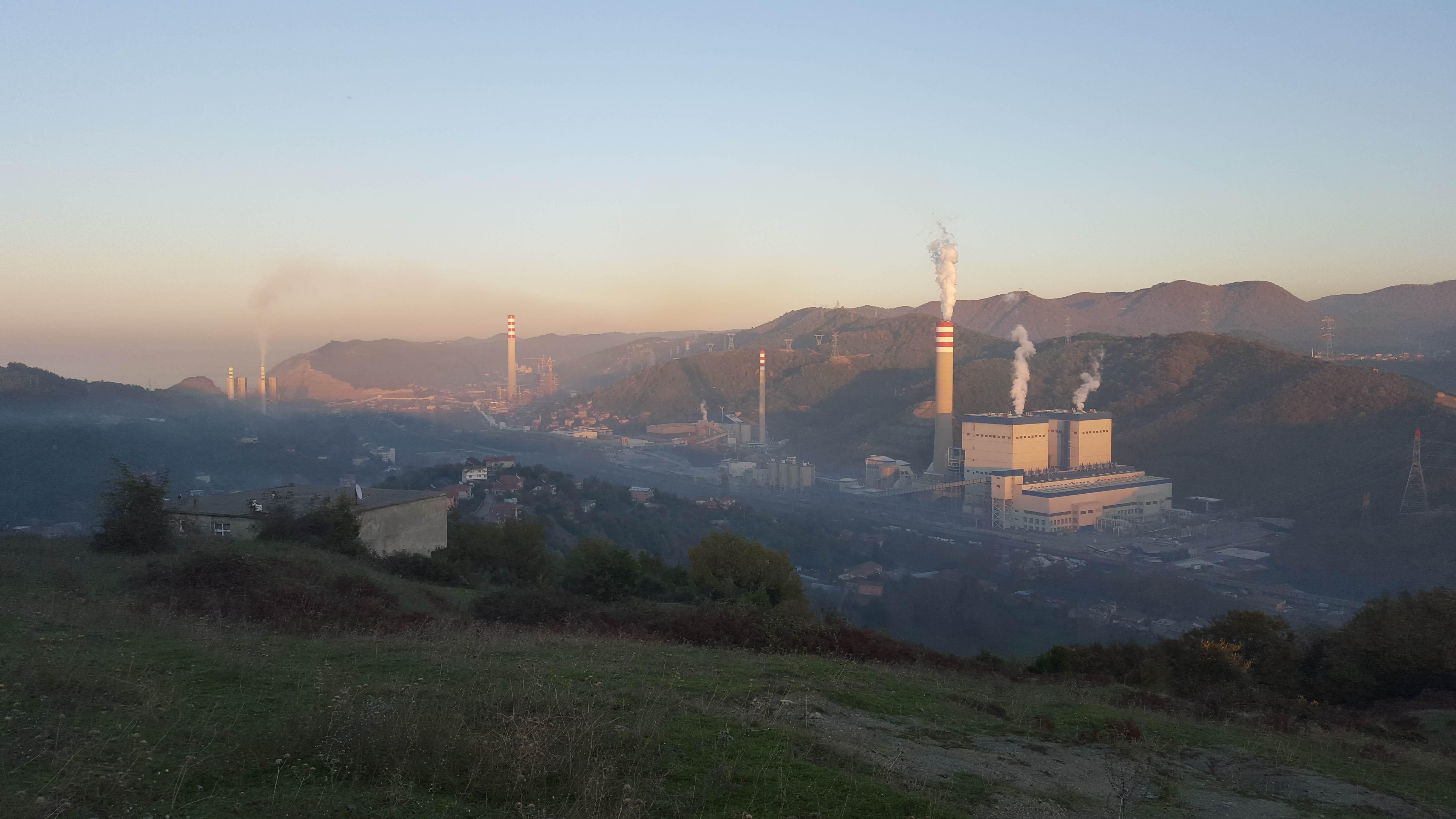 Kömürlü Termik Santraller Zonguldak'ın Nefesini Kesiyor