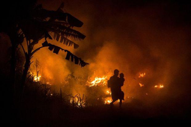 Gezegenin en büyük iklim felaketi Endonezya'da yaşanıyor