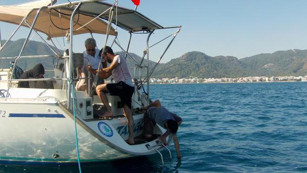 Marmaris Körfezi'nde kirlilik araştırmaları devam ediyor