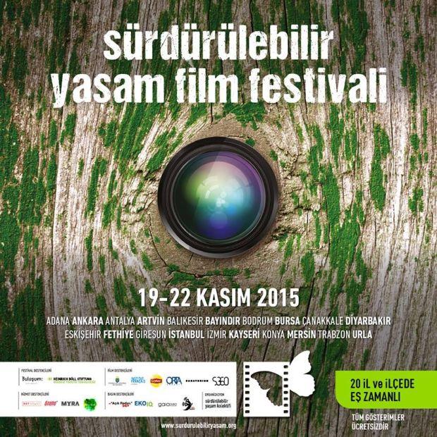 Sürdürülebilir Yaşam Film Festivali bu haftasonu 20 şehirde başlıyor