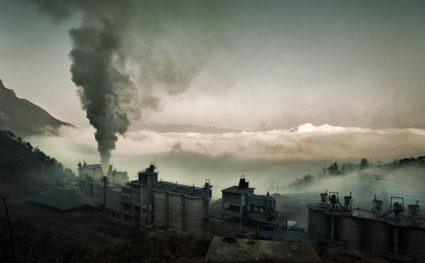 Çin'de hava kirliliği, güvenilir eşiğin 40 katına çıktı