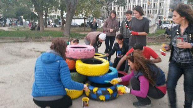 Fındıklı sahiline şantiye değil 'Veysel Atılgan Çocuk Parkı'