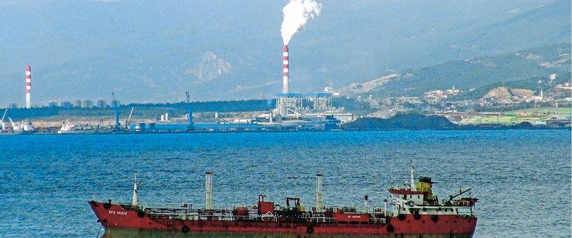 Termik santraller denizleri tehdit ediyor