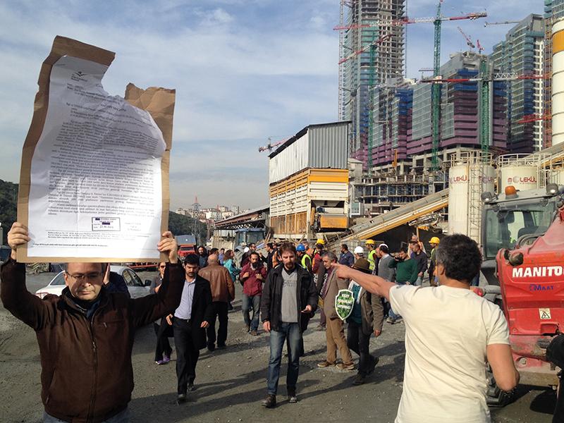 KOS'tan Kaçak Maslak 1453 hakkında suç duyurusu