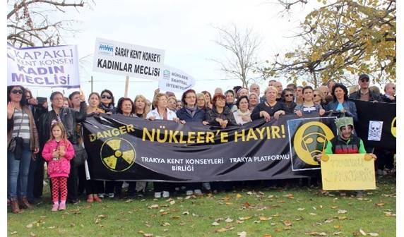 Trakyalılar Nükleer Santral Eyleminde