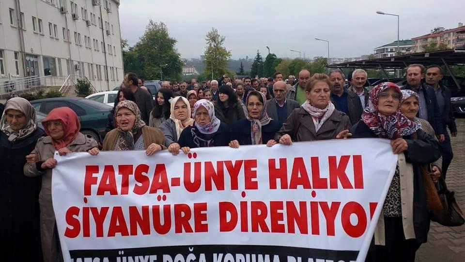 Siyanüre direnen Fatsa ve Ünyeliler Danıştay'a gidiyor