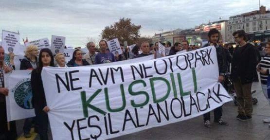 Mahkeme Kuşdili Çayırı'na Yapılacak AVM ve Otoparkın Yapılacağı Planı İptal Etti !
