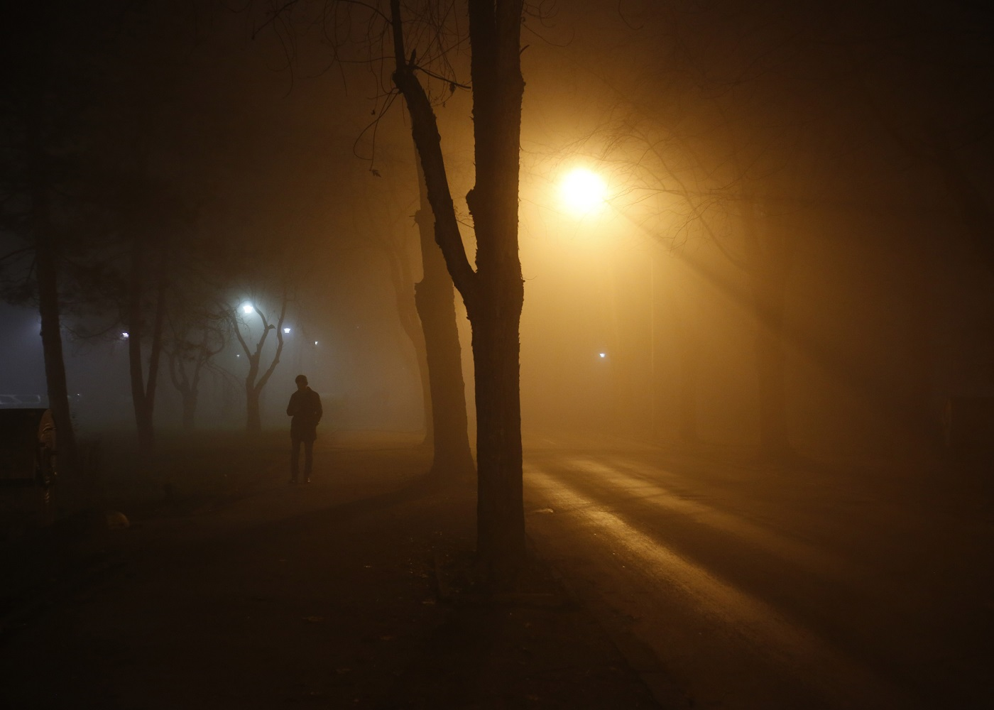 Saraybosna'da hava kirliliğinden dolayı okullar tatil edildi