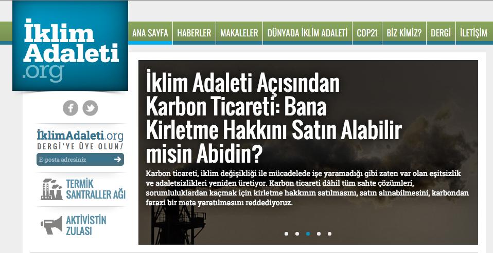 iklimadaleti.org yayında!