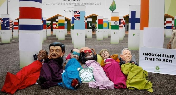 Liderler, 'battaniyelerin altında' iklim değişikliğine çare aradı