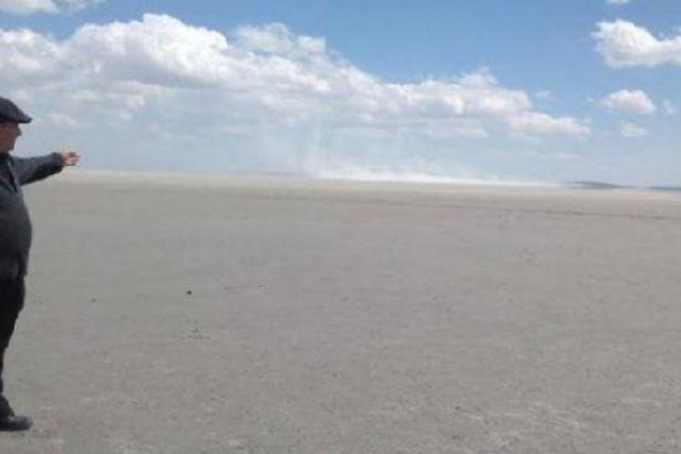 Kuş Cenneti olan Seyfe Gölü ıssız bir çöl artık