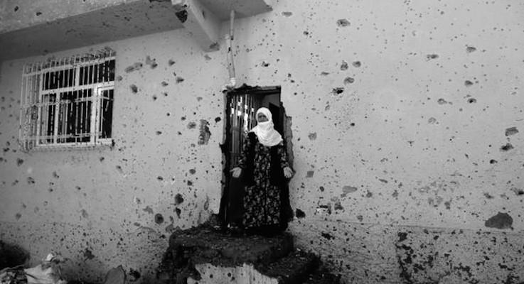 Türkiye İnsan Hakları Vakfı'ndan 'abluka' bilançosu: 124 sivil hayatını kaybetti