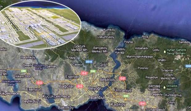 3. havalimanı projesinin kum ihtiyacı için orman arazisi gözden çıkarıldı