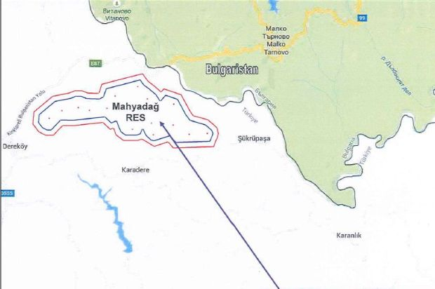 Istrancalar'daki koruma alanında RES tartışması