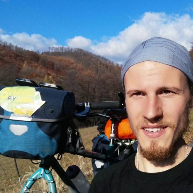 Bisikleti ile değişim için yola çıkmış Florian ile tanıştınız mı?