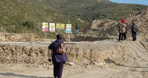 Sarpıncık'ta şirket çekildi ve RES tahribatının boyutları ortaya çıktı: RES'men yıkıp gitmişler