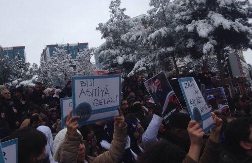Barış Yolcuları 2016'ya Diyarbakır Halkıyla Barış Nöbetinde Girdi
