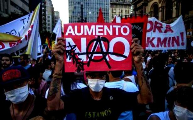 Bir yıl sonra Brezilya ulaşım hakkı için yeniden isyanda