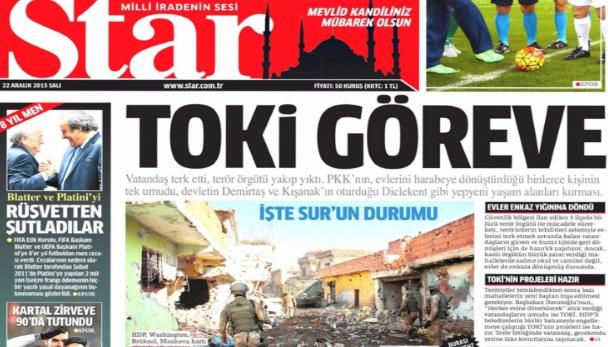 TOKİ'nin savaş rantı