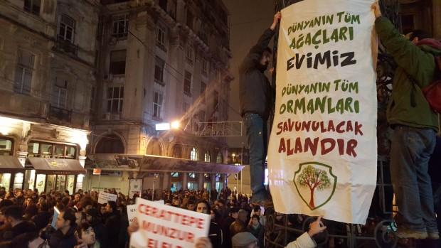 İstanbul Cerattepe için ses verdi: Her yer Artvin her yer direniş