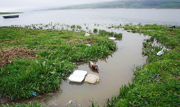 Sazlıdere Barajı'na 11 yıldır lağım karışıyor