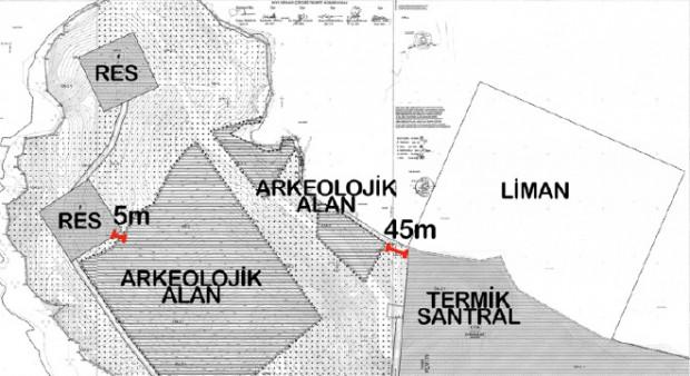 Antik liman termik santral limanı olacak