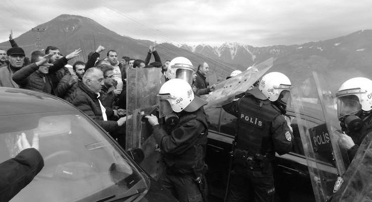 Cerattepe'de 'Cengiz çıkarması' Bakan Ala'nın emriyle: Vurun geçin