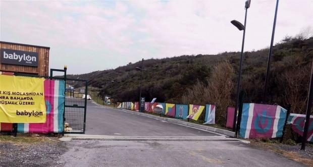 Dalya Plajı halka açıldı