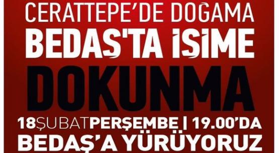 Cengiz'e karşı BEDAŞ işçileri Perşembe 19.00'da BEDAŞ'a çağırıyor