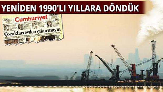 Türkiye artık nefes alamıyor