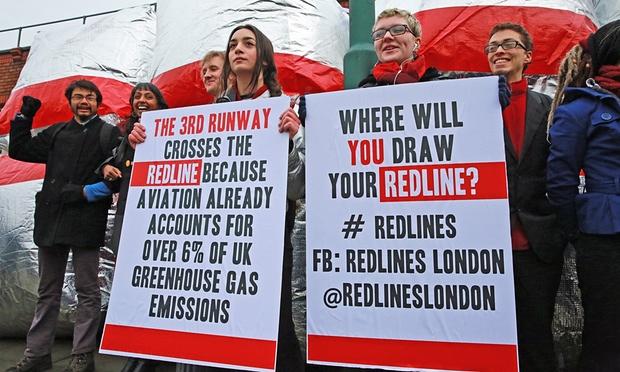 Kızımla ve diğer Heathrow protestocularıyla gurur duyuyorum. İşte sebebi