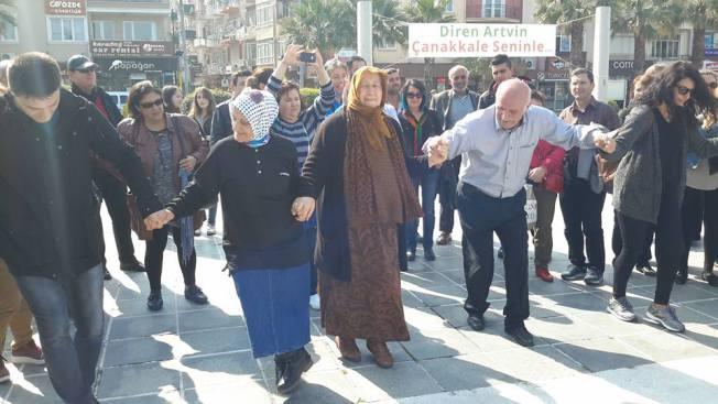 Kaz Dağları'ndan Cerattepe'ye zeybek ve horonla selam