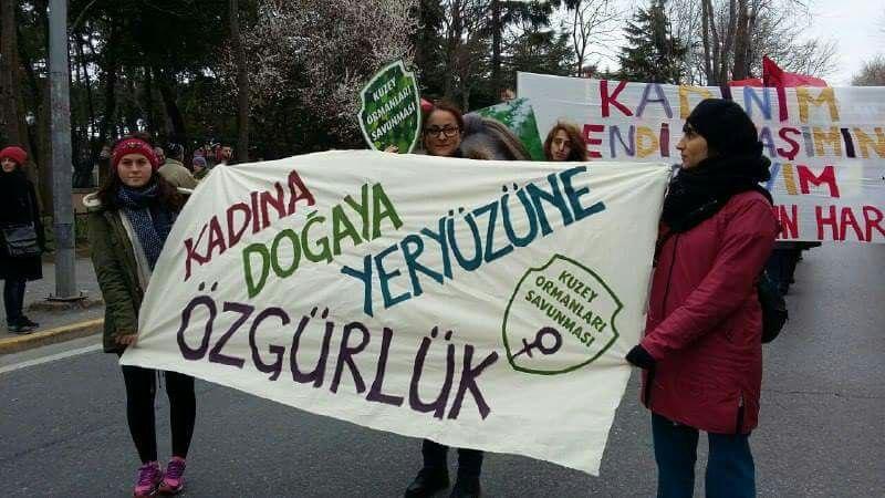 8 Mart'ta hep birlikte direnişimizi büyütelim!