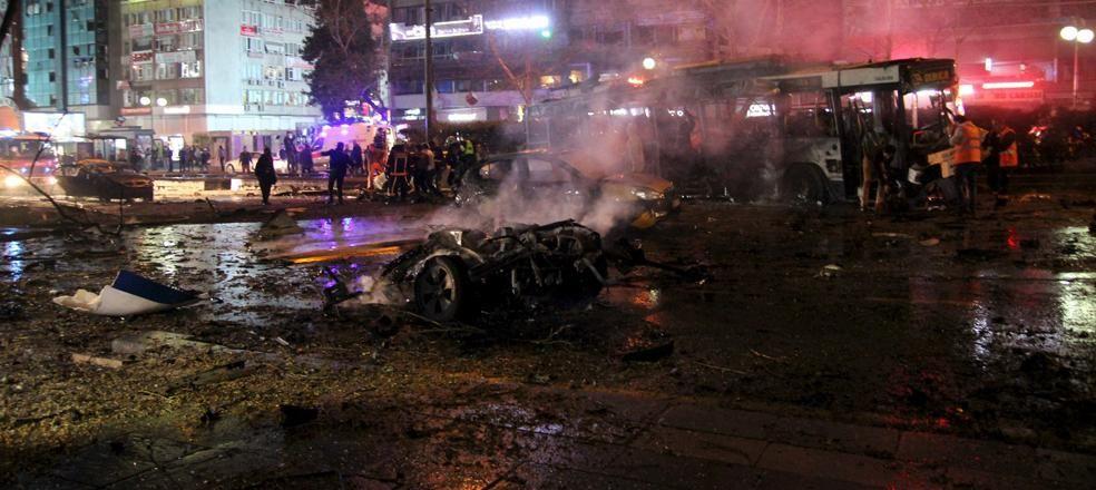 Ankara Kızılay'da bombalı saldırı: 37 ölü, 122 yaralı