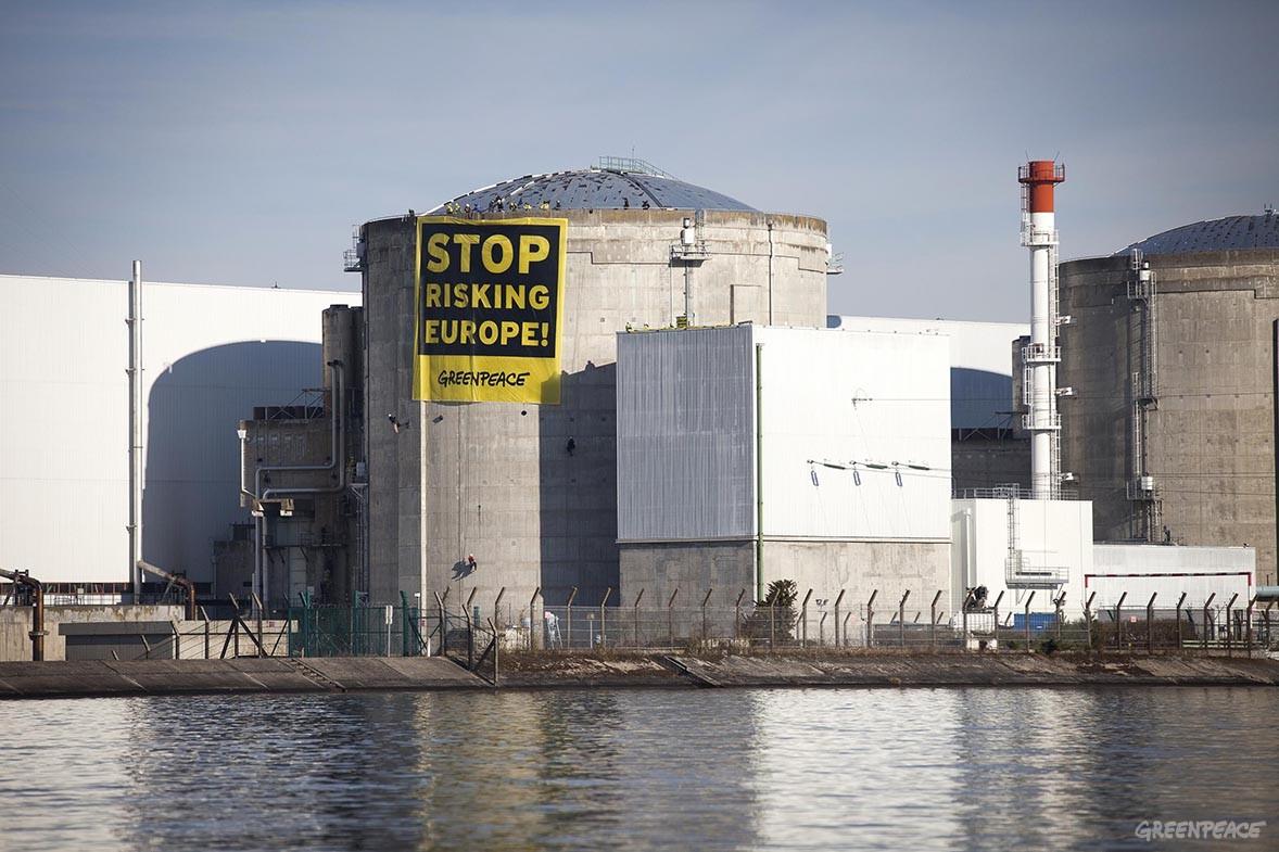 Fransa'nın Fessenheim Nükleer santralindeki kazayı gizlemişler