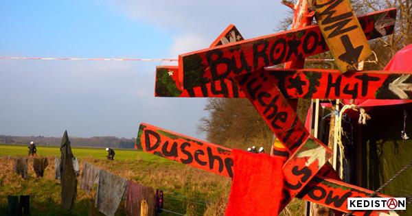 Hambach Forest'te kuşatmaya karşı direneceğiz!