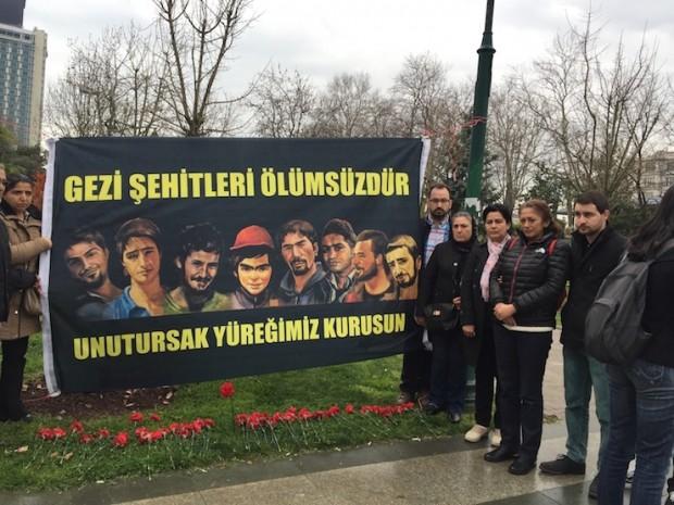 Gezi ailelerinden Gezi Parkı'nda anma: Unutursak yüreğimiz kurusun