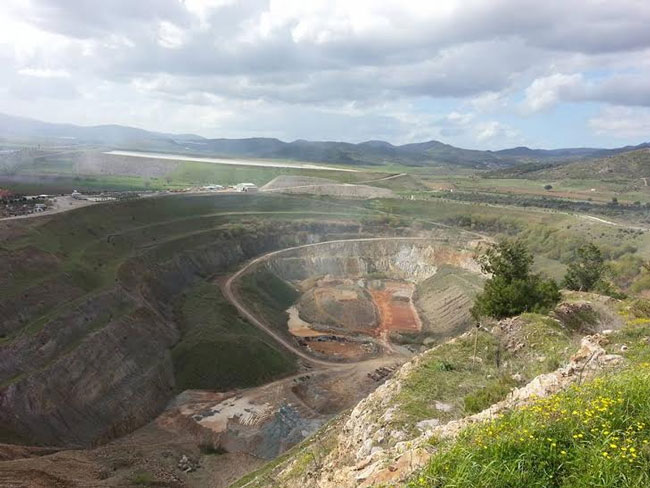 Bir altın madenine daha izin: Kozak'ta doğa ve tarih tehdit altında