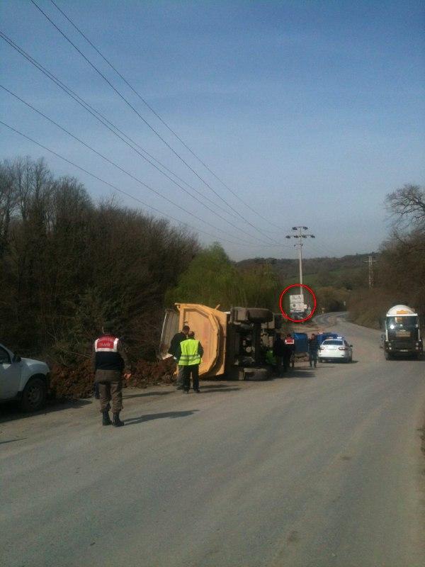 Katil 3. Köprü projesinde bir hafriyat kamyonu kazası daha!