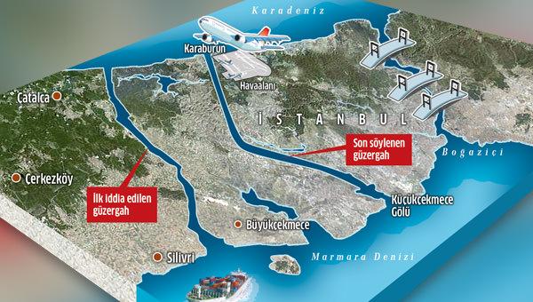 Kanal İstanbul'da güzergâh muamması